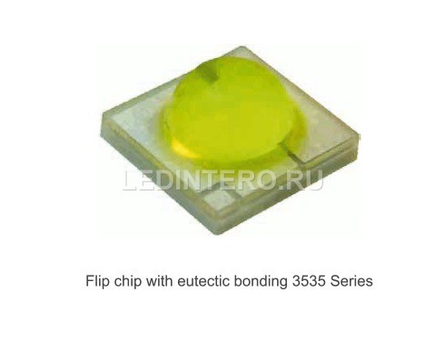 Светодиоды Flip chip with eutectic bonding 3535 Series